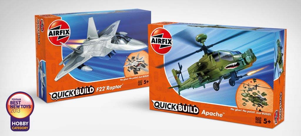 AIRFIX QUICKBUILD PACKAGING FOR HOMEPAGE