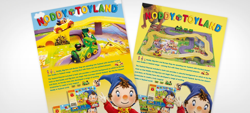 Product leaflets - Hornby Noddy in Toyland