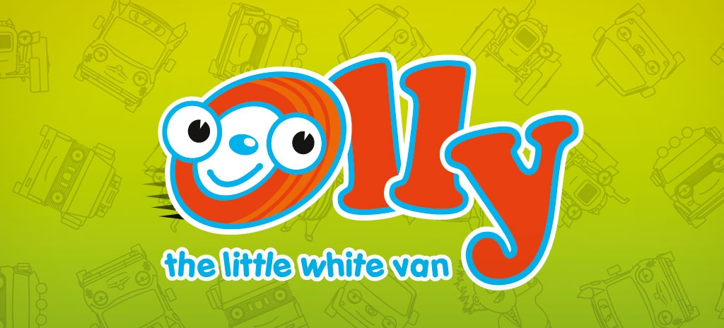 Brand identity - children's TV character Olly the Little White Van