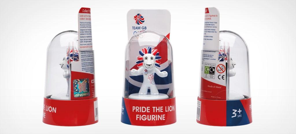 Souvenir packaging - Team GB London 2012 Olympics