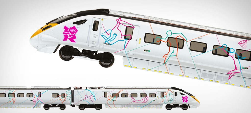 Product graphics - Hornby London 2012 Olympic train - LOCOG London 2012 Olympics