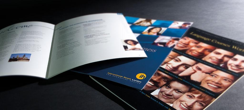 Brochure design - International House