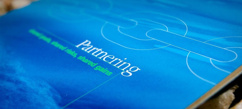 Corporate brochure design - Dredging International