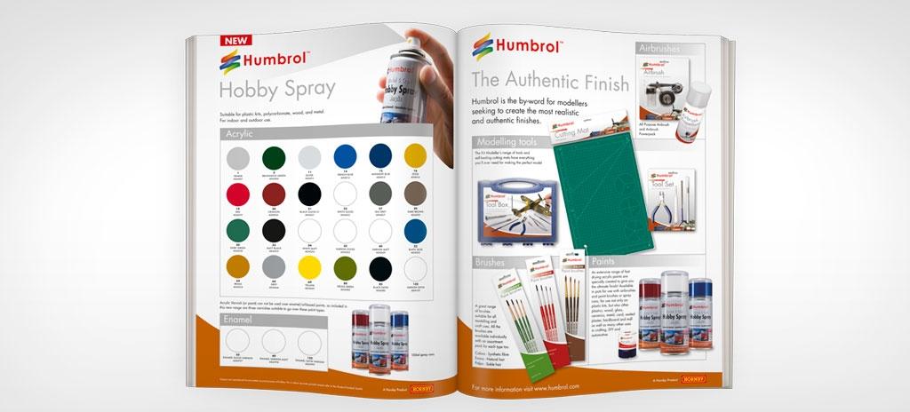 Advertising design - Humbrol