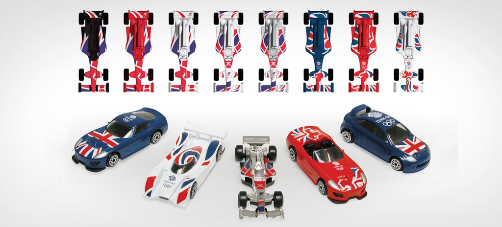 Product graphics - Team GB London 2012 Olympics