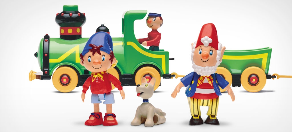 Product photography and retouching - Hornby Noddy in Toyland