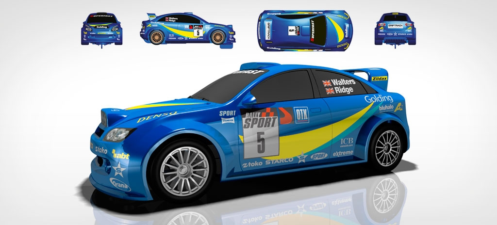 Product livery graphics - Scalextric