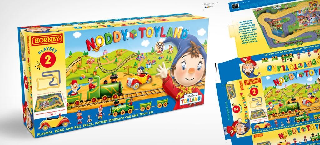 Toy packaging design - Hornby Noddy in Toyland