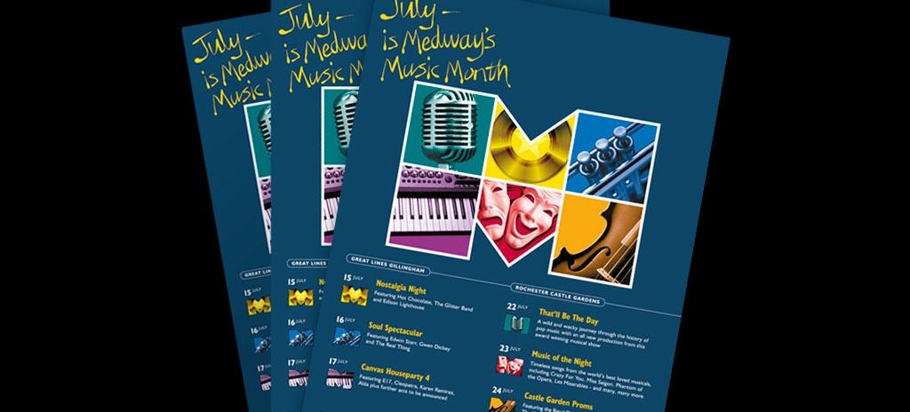 Leaflet design - Medway Council