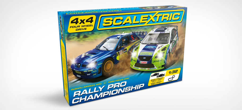 Packaging design - Scalextric