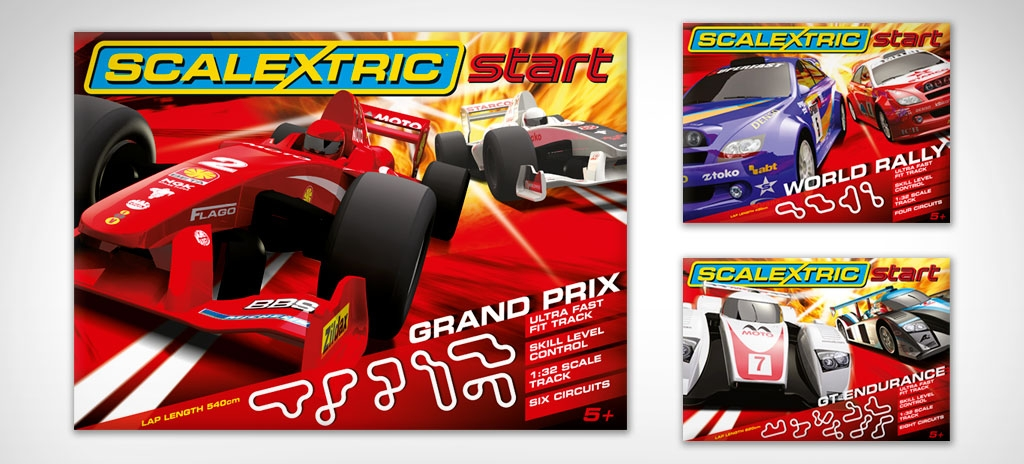 Toy packaging design - Scalextric