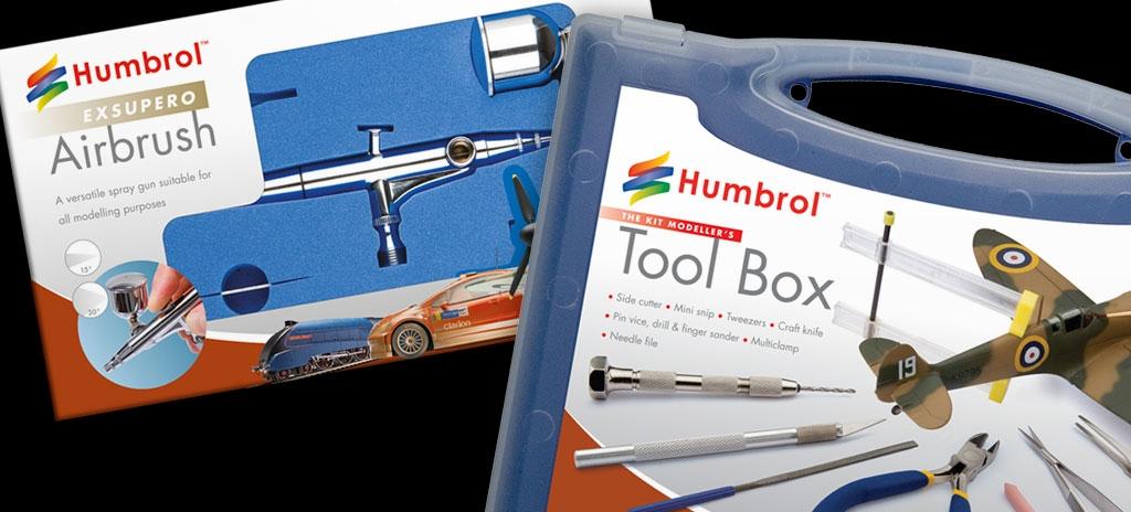 Packaging design - Humbrol